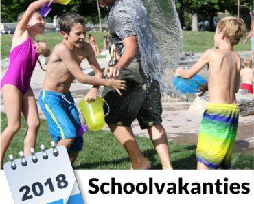 schoolvakanties 2018