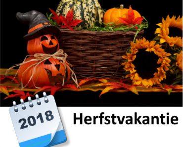 herfstvakantie 2018